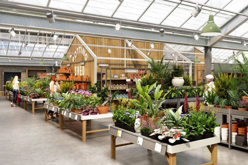 Inside the new Plant Centre