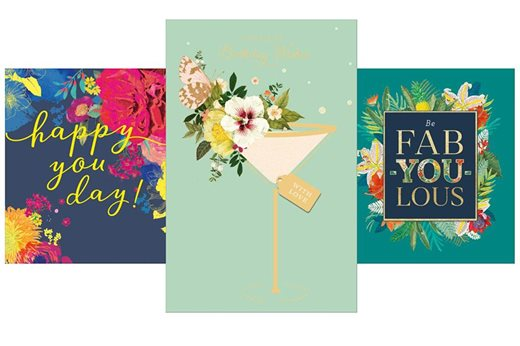 UK Greetings mixed cards