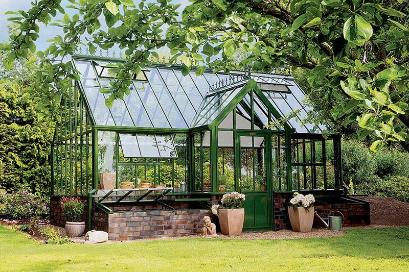 Hartley Botanic glasshouse
