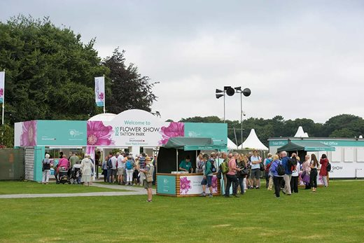 Thousands of people visit the RHS shows each year