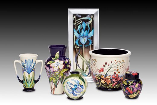 Moorcroft RHS Beatrix Stanley Collection
